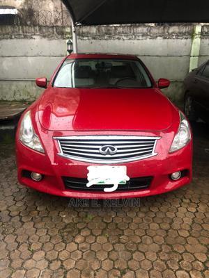 Infiniti G35 2008 Base RWD Red | Cars for sale in Bayelsa State, Yenagoa