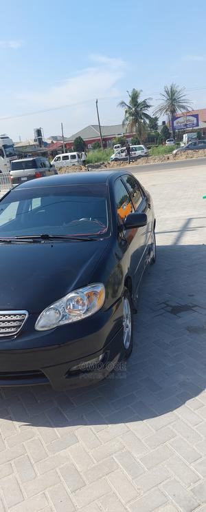 Toyota Corolla 2007 S Black   Cars for sale in Lagos State, Ajah