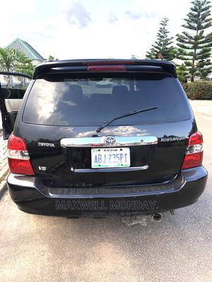 Toyota Highlander 2003 Black   Cars for sale in Abuja (FCT) State, Gudu