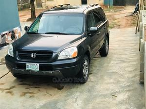 Honda Pilot 2005 EX 4x4 (3.5L 6cyl 5A) Gray | Cars for sale in Lagos State, Ikorodu