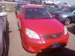 Toyota Matrix 2005 Red | Cars for sale in Lagos State, Apapa
