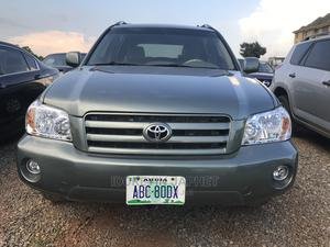 Toyota Highlander 2006 Green | Cars for sale in Abuja (FCT) State, Gwarinpa