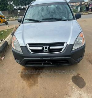 Honda CR-V 2004 EX 4WD Automatic Silver | Cars for sale in Lagos State, Ikotun/Igando