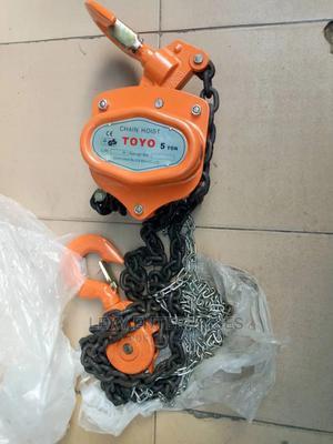 Manual Chain Hoist/Block   Manufacturing Equipment for sale in Lagos State, Ojodu
