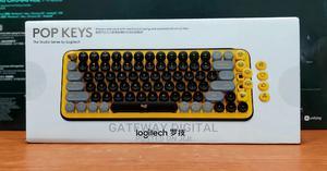 Logitech POP KEYS Wireless Bluetooth Mechanical Keyboard   Computer Accessories  for sale in Lagos State, Ikeja
