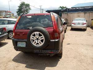 Honda CR-V 2003 EX 4WD Automatic Red | Cars for sale in Ebonyi State, Abakaliki