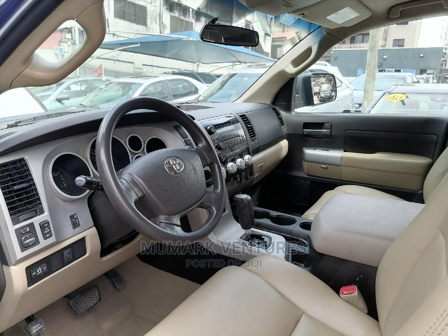 Toyota Tundra 2008 Double Cab Blue   Cars for sale in Ikeja, Lagos State, Nigeria