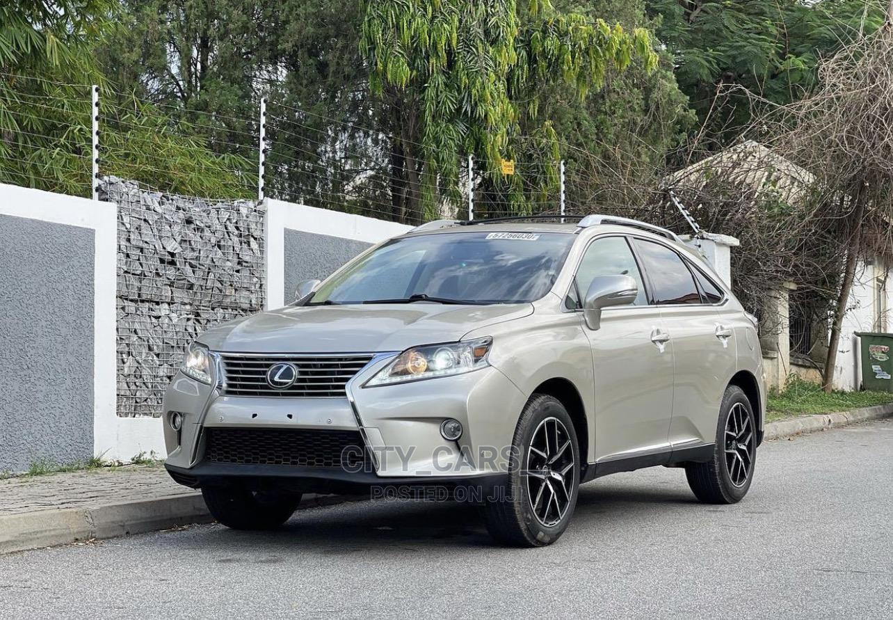 Lexus RX 2013 Gold