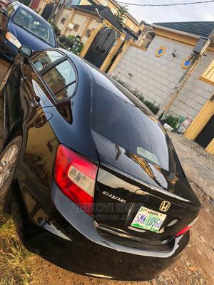 Honda Civic 2013 Black   Cars for sale in Lagos State, Agege