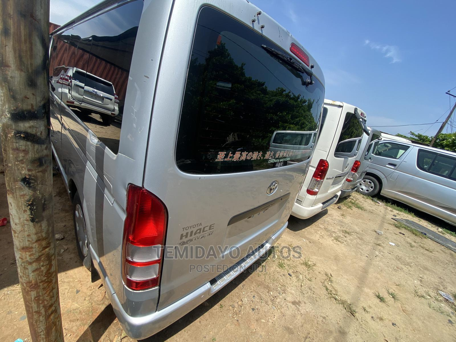 Toyota Hiace 2013 Silver | Buses & Microbuses for sale in Apapa, Lagos State, Nigeria