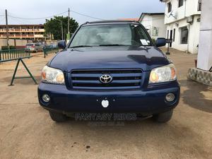 Toyota Highlander 2006 Limited V6 4x4 Blue   Cars for sale in Lagos State, Lekki