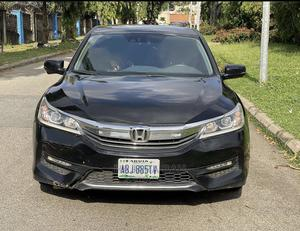 Honda Accord 2017 Black   Cars for sale in Abuja (FCT) State, Central Business District