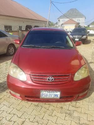 Toyota Corolla 2004 LE Red | Cars for sale in Abuja (FCT) State, Mpape