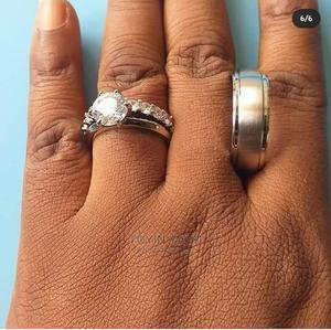Titanium Steel Bridal Set Wedding Ring | Wedding Wear & Accessories for sale in Lagos State, Ikeja