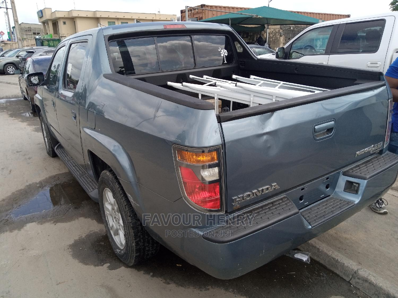 Honda Ridgeline 2007 Blue | Cars for sale in Amuwo-Odofin, Lagos State, Nigeria