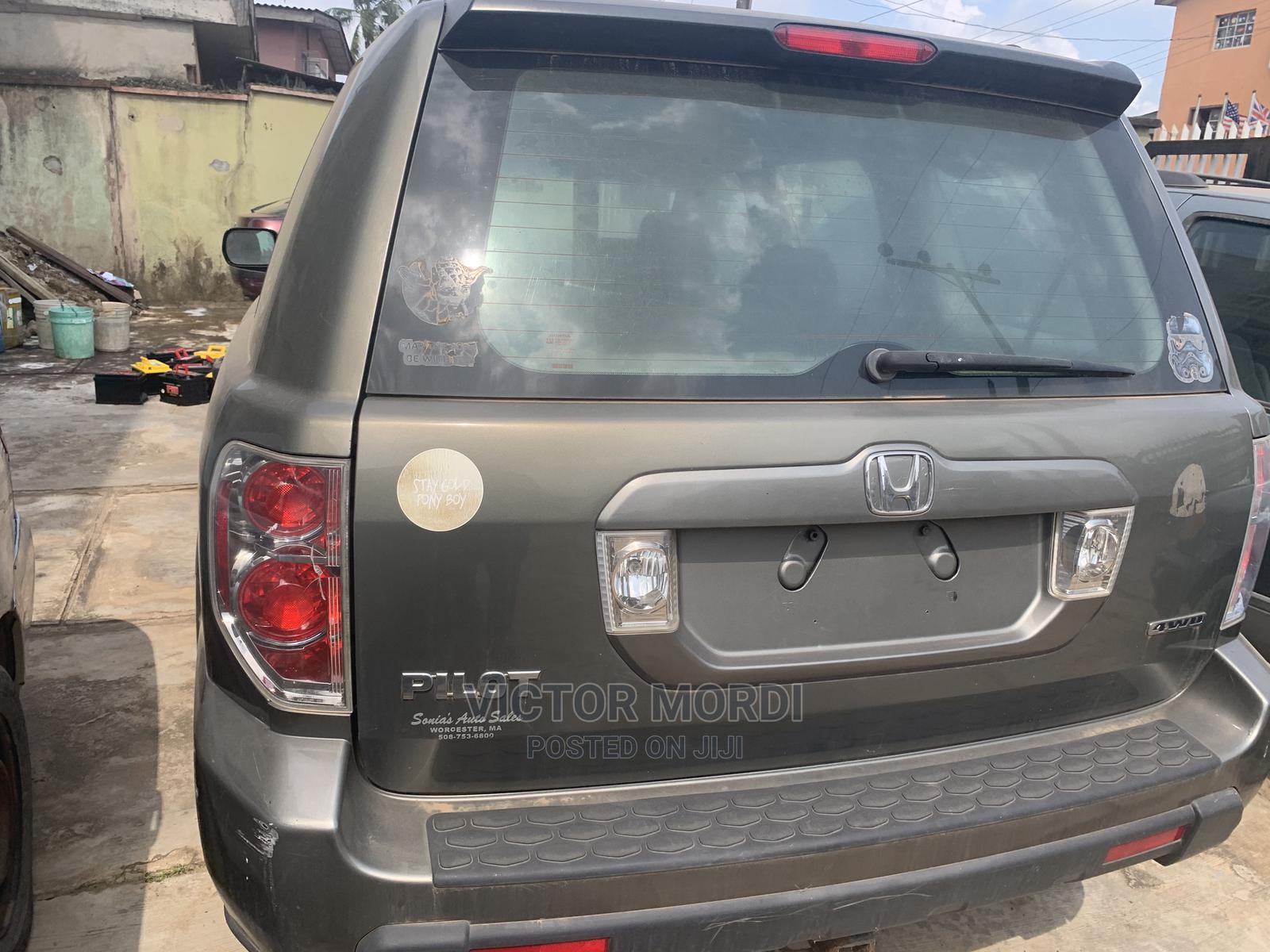 Honda Pilot 2007 Green | Cars for sale in Abule Egba, Lagos State, Nigeria