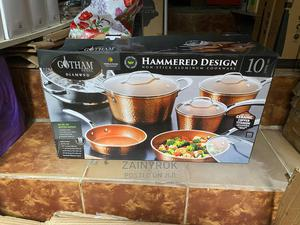Gotham Steel Nonstick Aluminum Cookware Set -10pcs | Kitchen & Dining for sale in Lagos State, Alimosho