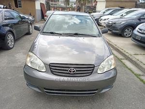 Toyota Corolla 2004 Sedan Automatic Gray | Cars for sale in Lagos State, Amuwo-Odofin