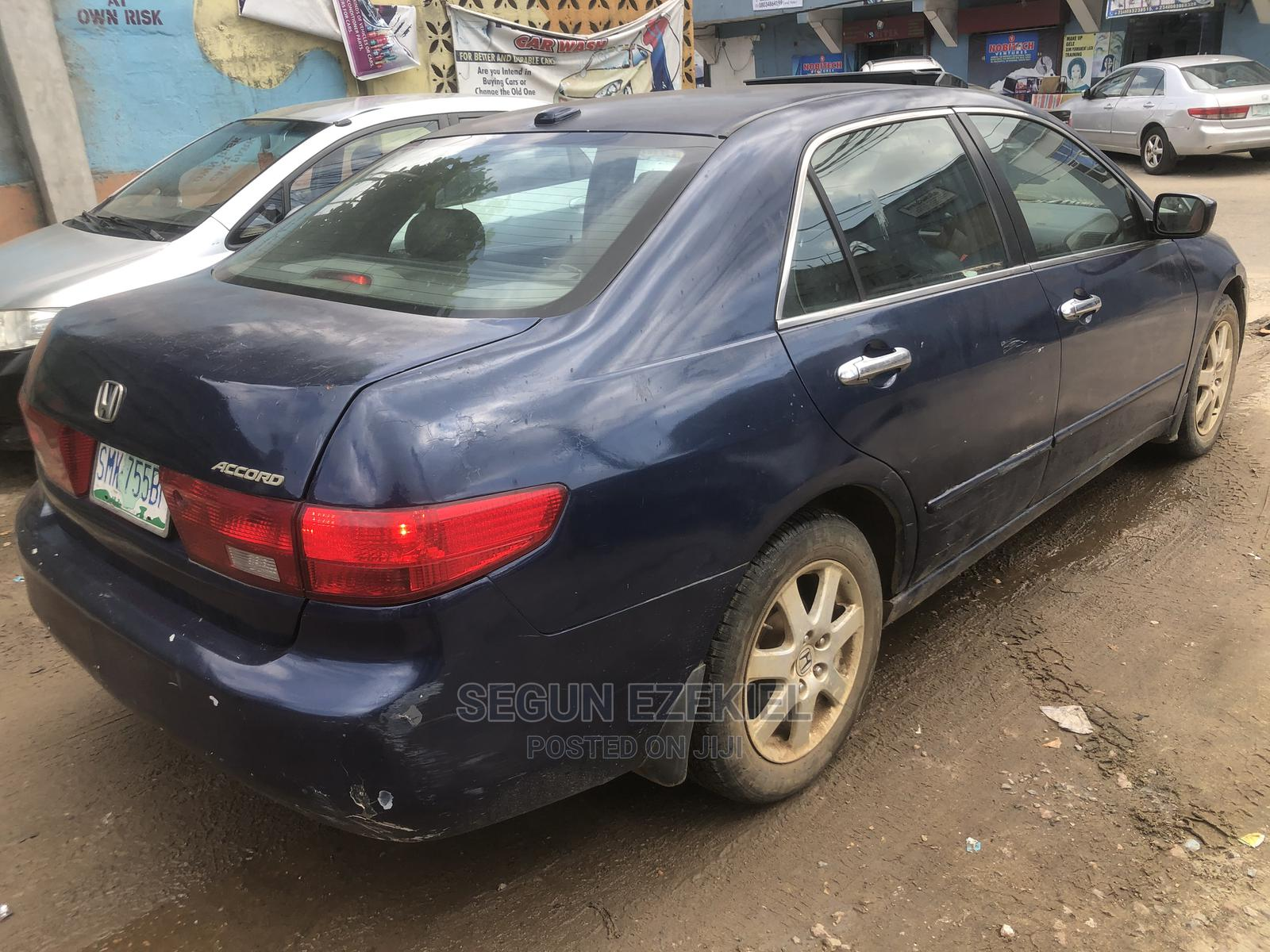 Honda Accord 2003 Blue   Cars for sale in Yabo, Sokoto State, Nigeria