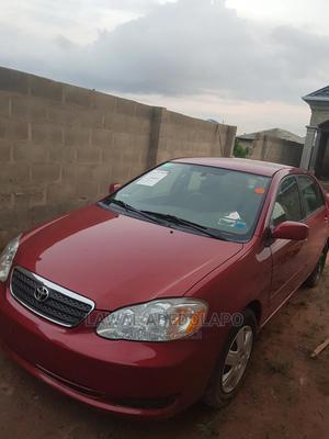 Toyota Corolla 2007 Red | Cars for sale in Ogun State, Ijebu Ode