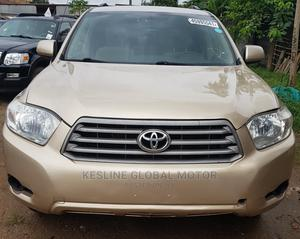 Toyota Highlander 2008 4x4 Gold | Cars for sale in Lagos State, Ikotun/Igando
