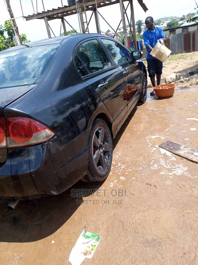 Honda Civic 2008 Black   Cars for sale in Gwarinpa, Abuja (FCT) State, Nigeria