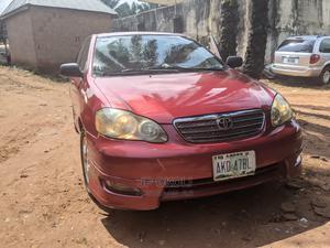 Toyota Corolla 2005 S Red | Cars for sale in Anambra State, Ekwusigo
