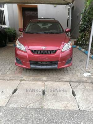 Toyota Matrix 2009 Red   Cars for sale in Lagos State, Ikeja