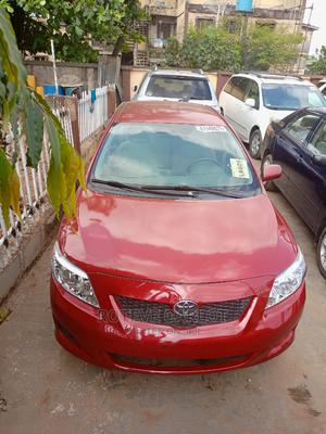 Toyota Corolla 2009 1.8 Advanced Red | Cars for sale in Lagos State, Abule Egba
