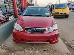 Toyota Corolla 2006 Red   Cars for sale in Lagos State, Ogba
