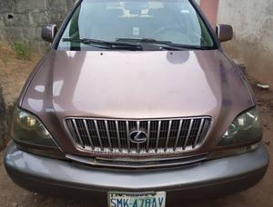 Lexus RX 2000 Gold | Cars for sale in Lagos State, Badagry