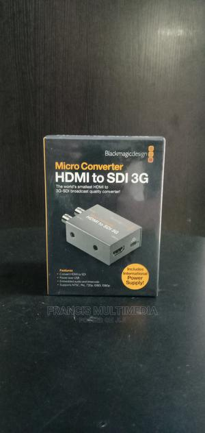 Blackmagic Design Micro Converter HDMI to SDI 3G (With PSU)   Accessories & Supplies for Electronics for sale in Lagos State, Ikeja