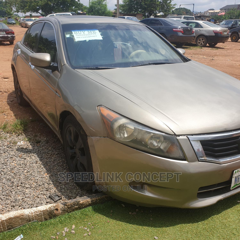 Honda Accord 2008 3.5 EX Automatic Gold | Cars for sale in Ibadan, Oyo State, Nigeria