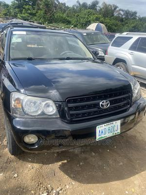 Toyota Highlander 2004 Limited V6 4x4 Black | Cars for sale in Lagos State, Amuwo-Odofin
