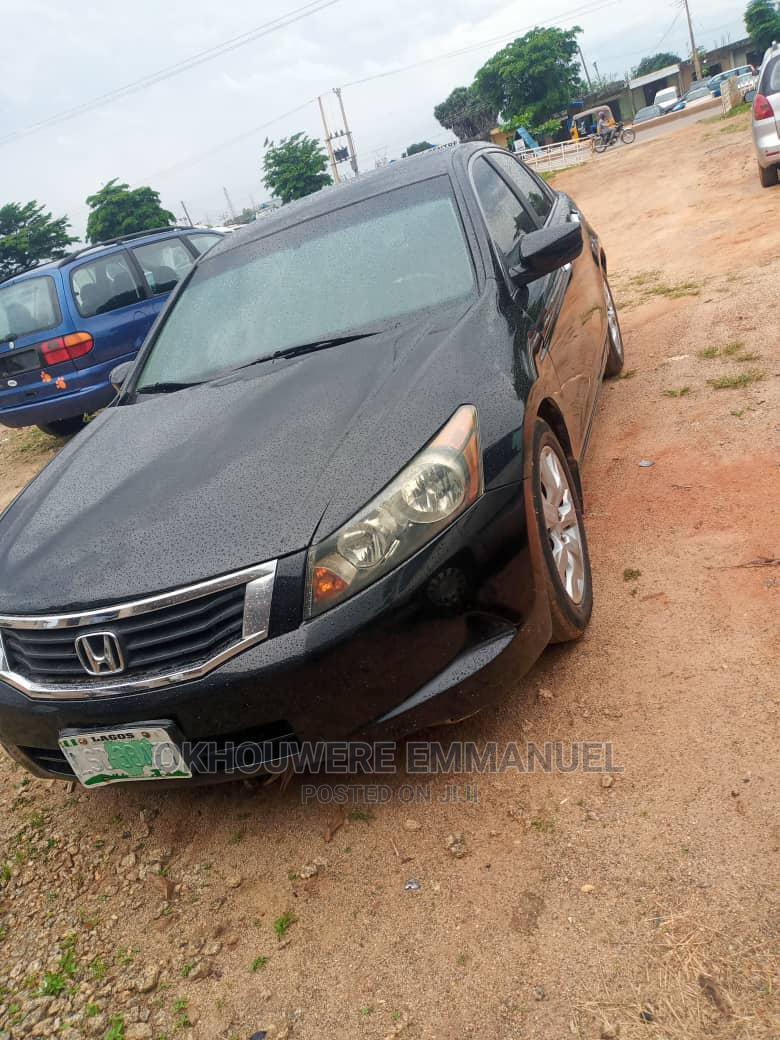 Honda Accord 2008 2.0 Comfort Automatic Black   Cars for sale in Zaria, Kaduna State, Nigeria