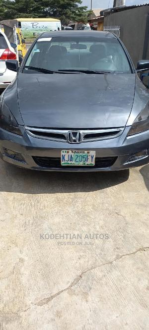 Honda Accord 2007 Gray   Cars for sale in Lagos State, Alimosho