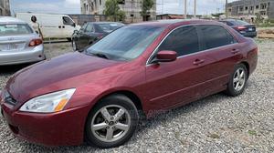 Honda Accord 2005 Red | Cars for sale in Abuja (FCT) State, Gudu