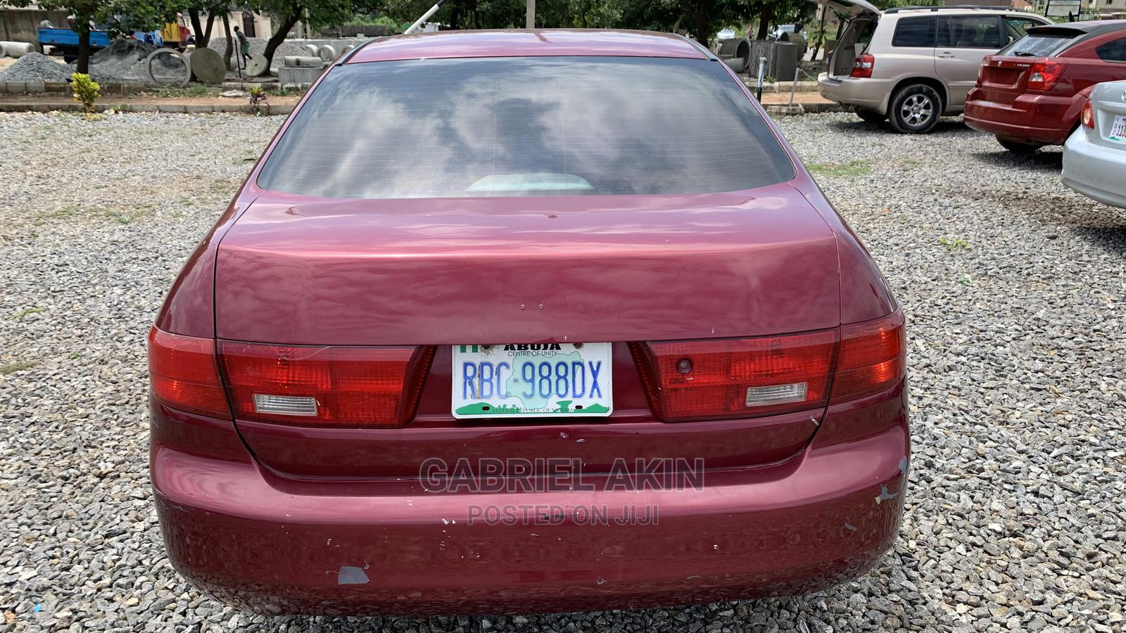 Honda Accord 2005 Red   Cars for sale in Gudu, Abuja (FCT) State, Nigeria