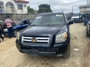 Honda Pilot 2007 EX-L 4x4 (3.5L 6cyl 5A) Black | Cars for sale in Lagos State, Ajah