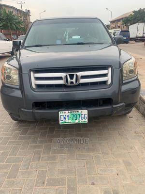 Honda Pilot 2006 EX 4x4 (3.5L 6cyl 5A) Gray | Cars for sale in Lagos State, Amuwo-Odofin