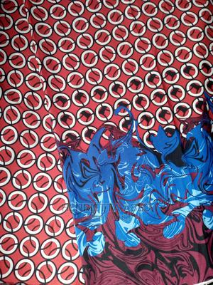 Crepe Fabric With Beautiful Border and Silk Fabric   Clothing for sale in Lagos State, Abule Egba