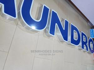 3D Individual Signage Brushed Silver   Manufacturing Services for sale in Lagos State, Ikeja