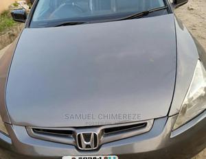 Honda Accord 2004 Sedan EX Gray   Cars for sale in Ogun State, Ado-Odo/Ota