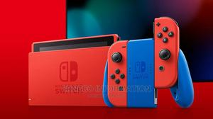 Nintendo Switch Mario Red Blue Edition   Video Game Consoles for sale in Lagos State, Ikeja