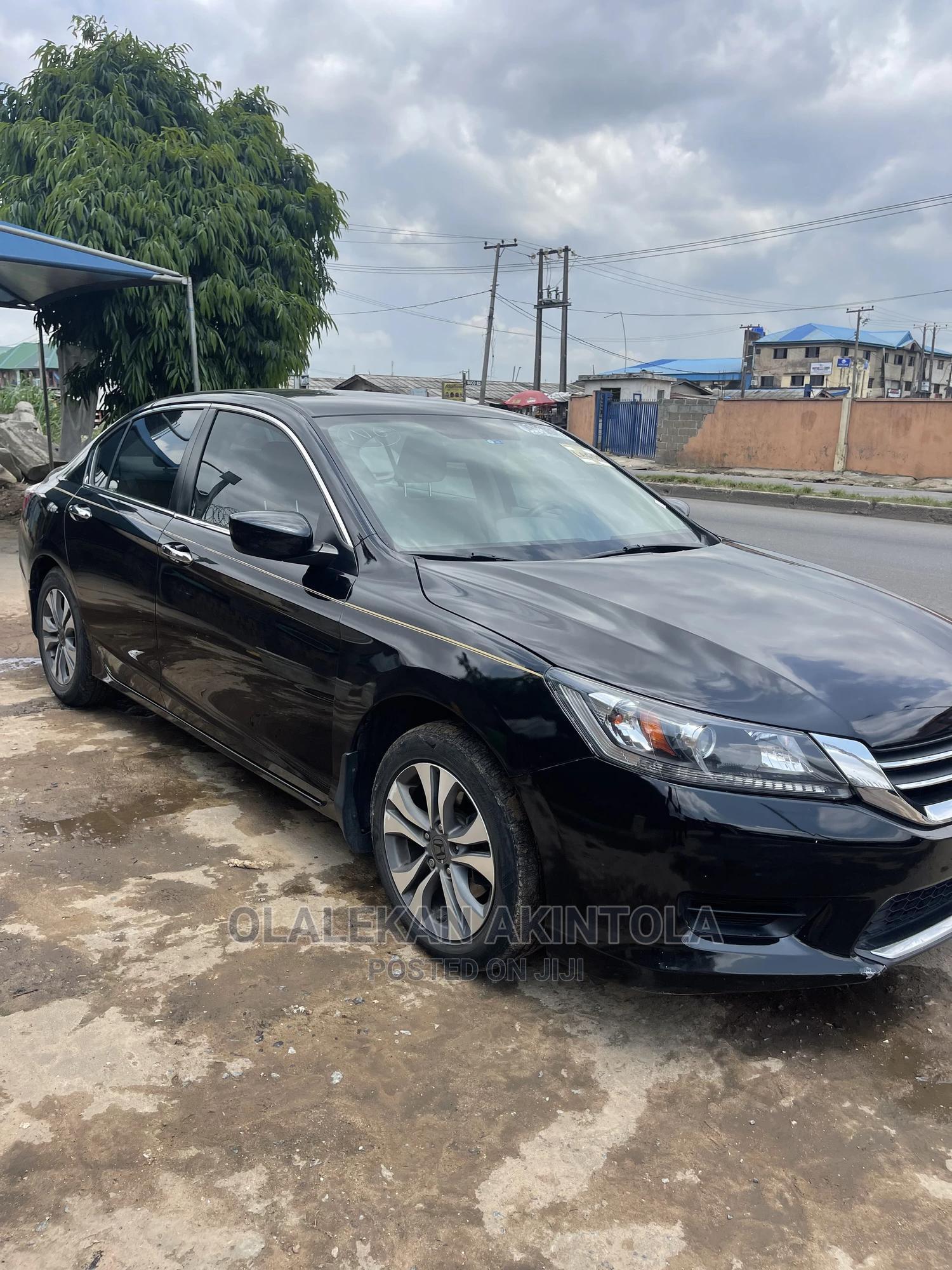Honda Accord 2015 Black | Cars for sale in Agege, Lagos State, Nigeria