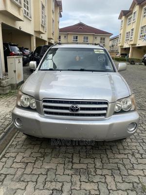 Toyota Highlander 2003 V6 AWD Silver | Cars for sale in Lagos State, Lekki