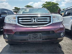 Honda Pilot 2013 LX 4dr SUV (3.5L 6cyl 5A) Burgandy | Cars for sale in Lagos State, Apapa