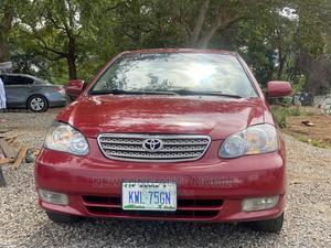 Toyota Corolla 2003 Sedan Red | Cars for sale in Abuja (FCT) State, Gwarinpa