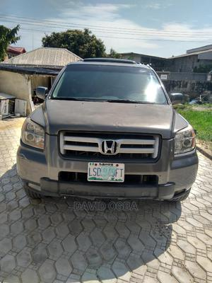 Honda Pilot 2008 EX 4x4 (3.5L 6cyl 5A) Gray | Cars for sale in Lagos State, Ajah