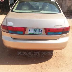 Honda Accord 2005 2.0 Comfort Automatic Gold | Cars for sale in Lagos State, Ejigbo